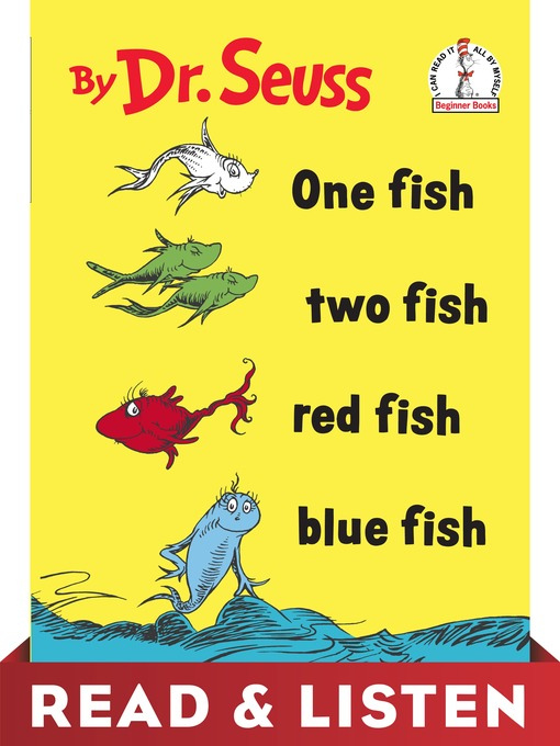 Cover of One Fish Two Fish Red Fish Blue Fish