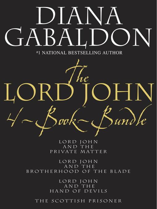 Title details for The Lord John 4-Book Bundle by Diana Gabaldon - Wait list