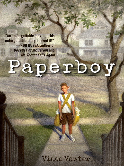 Title details for Paperboy by Vince Vawter - Available