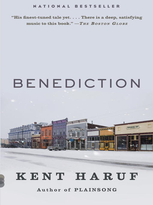 Title details for Benediction by Kent Haruf - Wait list