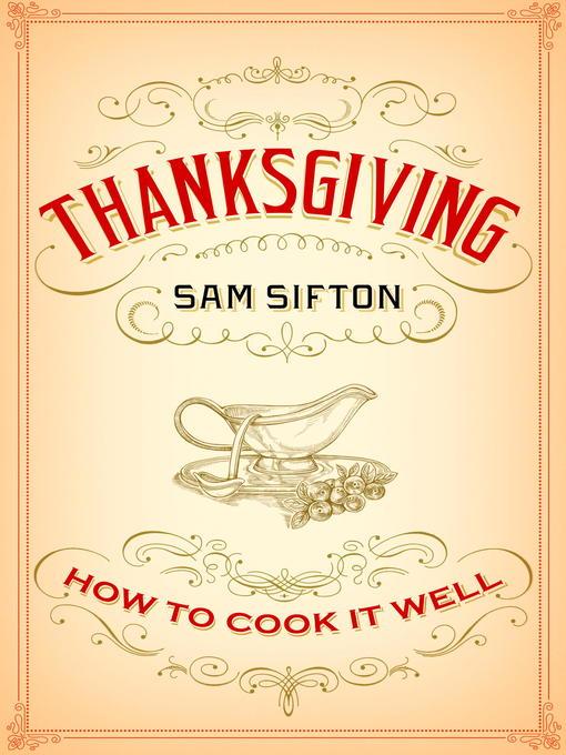 Title details for Thanksgiving by Sam Sifton - Available