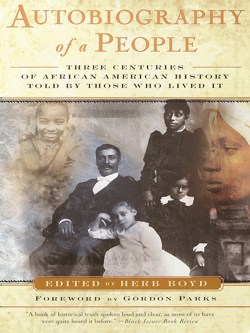 Title details for Autobiography of a People by Herb Boyd - Wait list