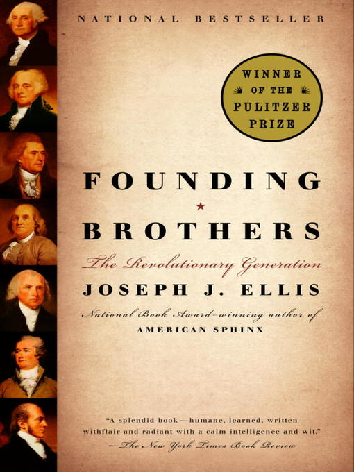 Title details for Founding Brothers by Joseph J. Ellis - Wait list
