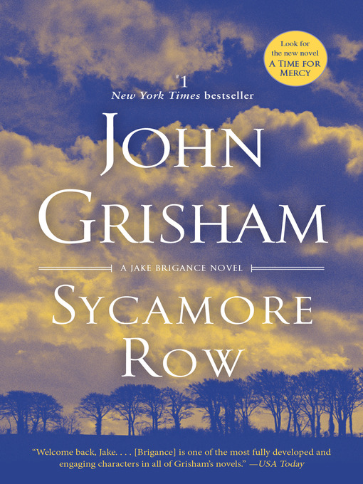 Cover of Sycamore Row