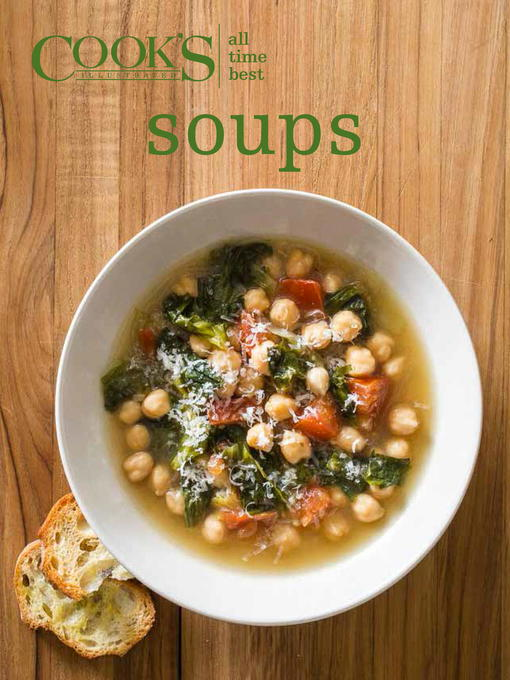 Title details for All-Time Best Soups by Cook's Illustrated - Wait list