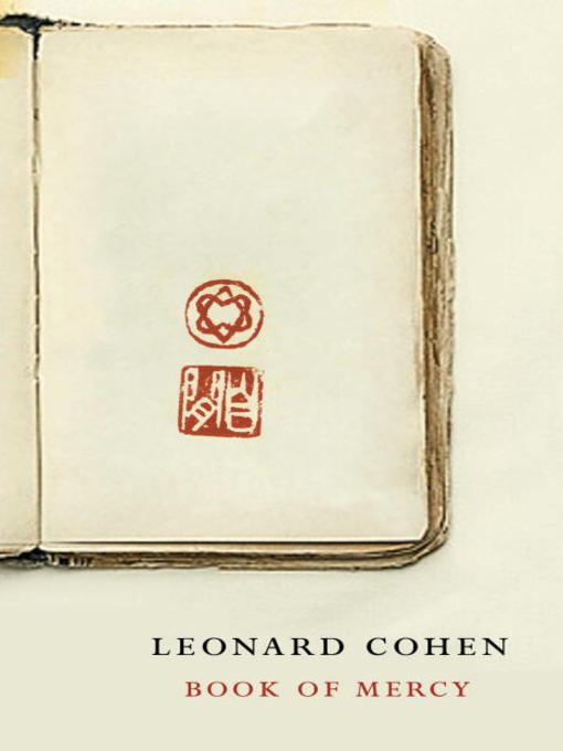 Title details for Book of Mercy by Leonard Cohen - Available