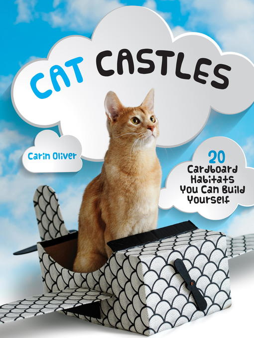 Book cover of Cat castles : 20 cardboard habitats you can build yourself
