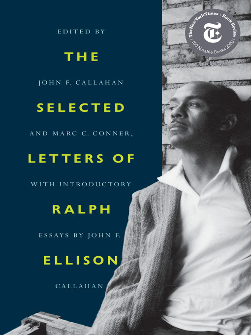 Title details for The Selected Letters of Ralph Ellison by Ralph Ellison - Wait list