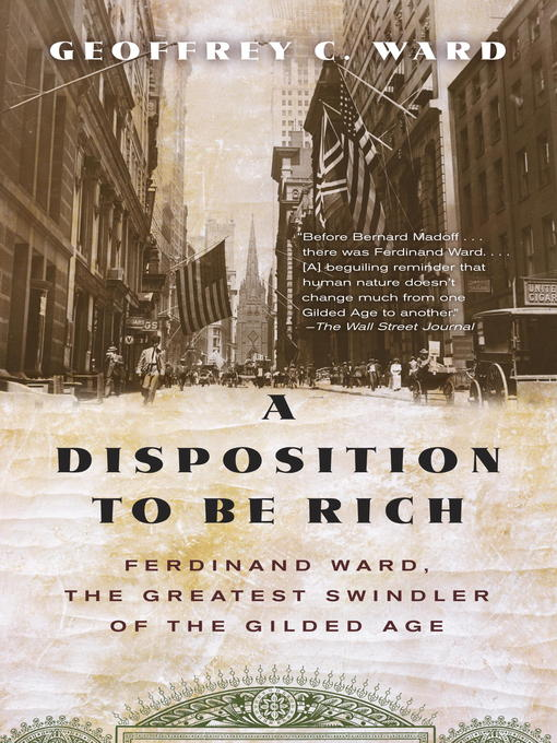 Cover image for A Disposition to Be Rich