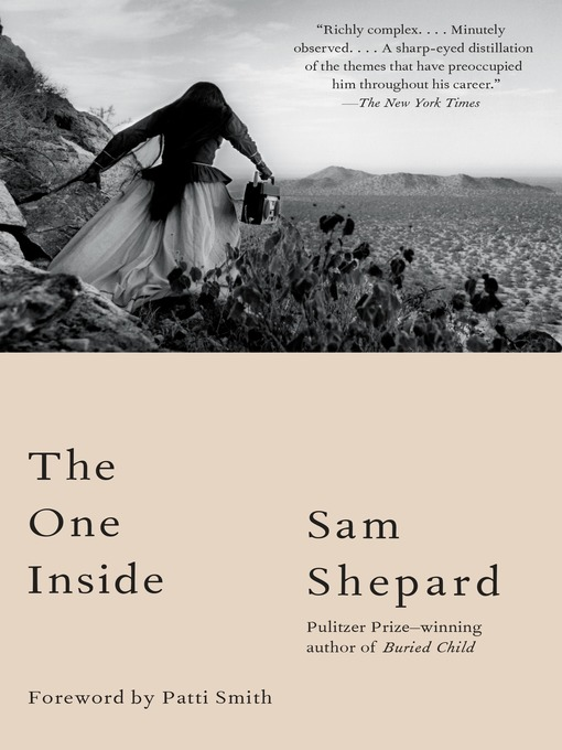 Title details for The One Inside by Sam Shepard - Wait list