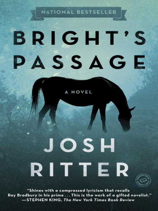 Title details for Bright's Passage by Josh Ritter - Wait list
