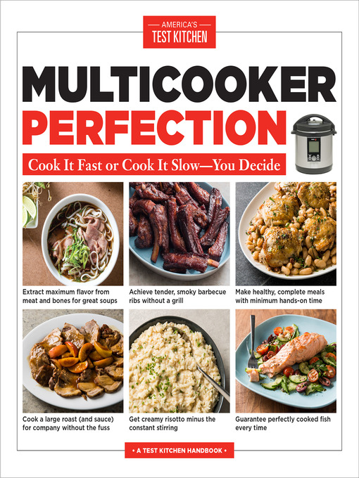 Title details for Multicooker Perfection by America's Test Kitchen - Available