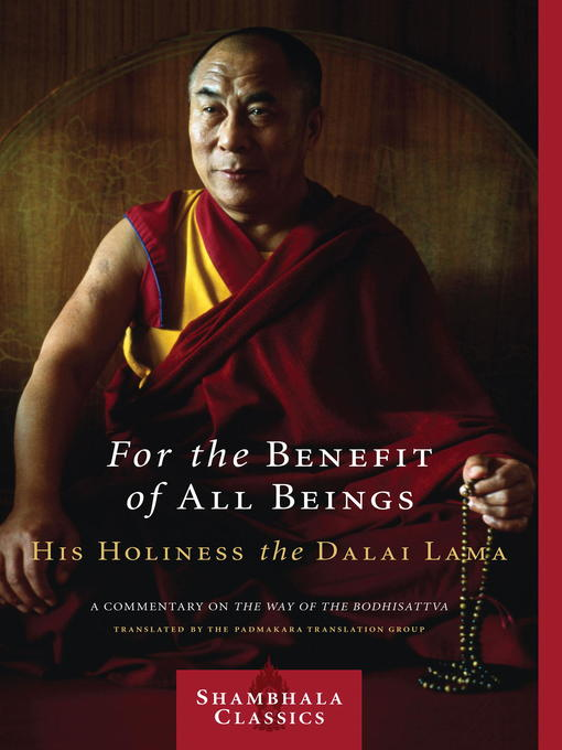 Title details for For the Benefit of All Beings by Dalai Lama - Available