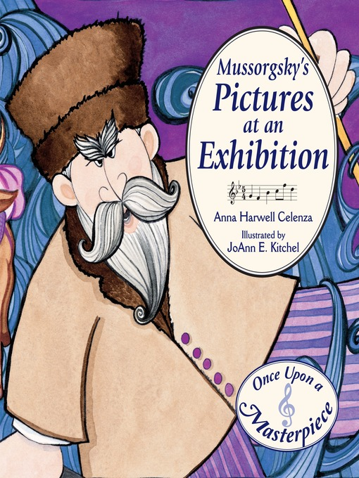 Cover of Mussorgsky's Pictures at an Exhibition