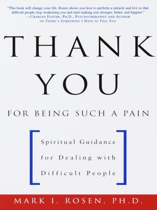 Title details for Thank You for Being Such a Pain by Mark Rosen - Wait list