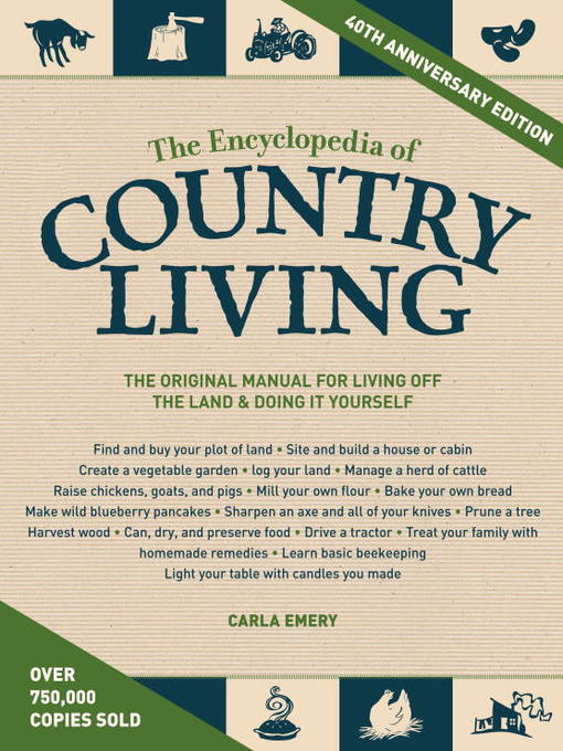 Cover of The Encyclopedia of Country Living