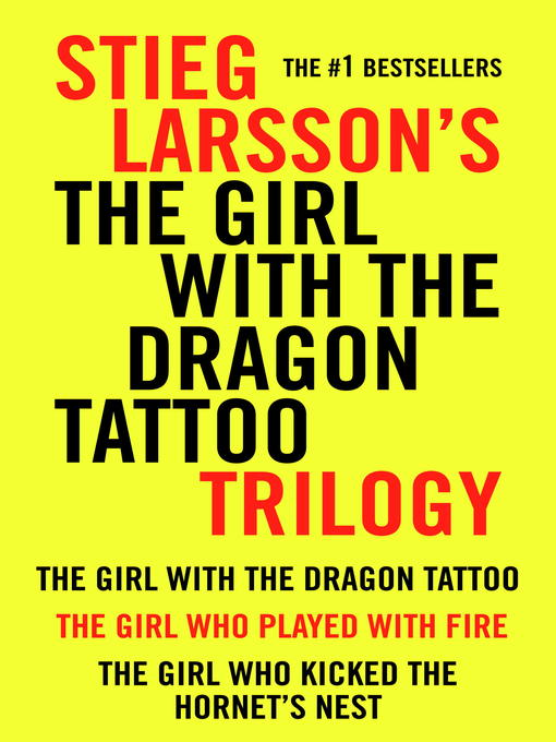 Title details for The Girl With the Dragon Tattoo Trilogy Bundle by Stieg Larsson - Available