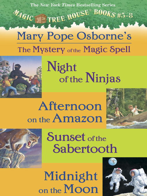 Title details for Magic Tree House, Books 5-8 by Mary Pope Osborne - Available