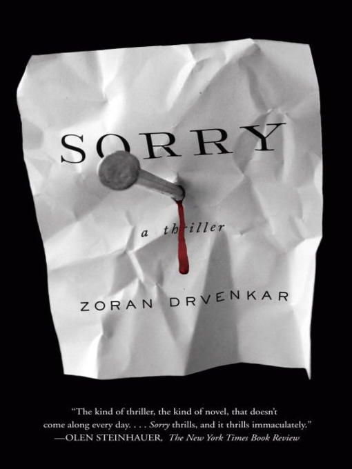 Title details for Sorry by Zoran Drvenkar - Available