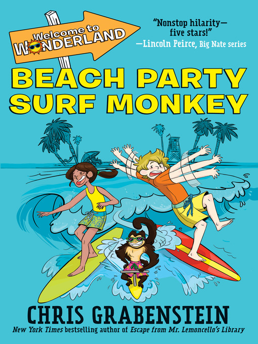 Cover of Beach Party Surf Monkey