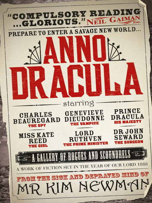 Title details for Anno Dracula by Kim Newman - Wait list