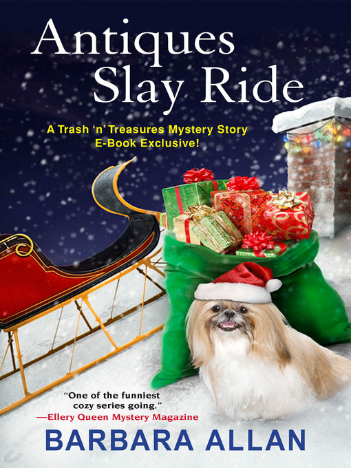 Title details for Antiques Slay Ride by Barbara Allan - Available