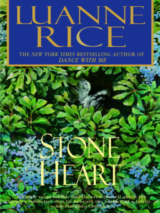Title details for Stone Heart by Luanne Rice - Available