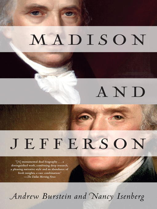 Title details for Madison and Jefferson by Andrew Burstein - Available