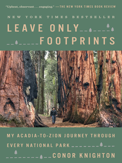 Title details for Leave Only Footprints by Conor Knighton - Available
