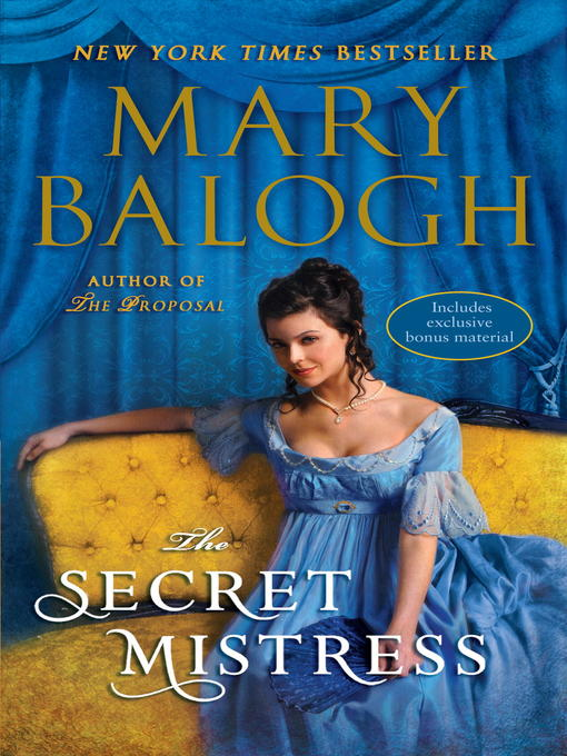 Title details for The Secret Mistress by Mary Balogh - Available