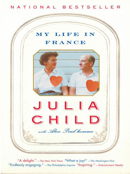 Title details for My Life in France by Julia Child - Wait list