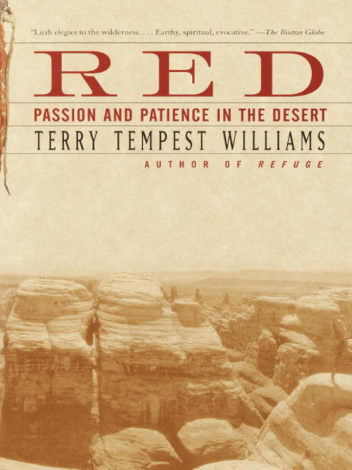 terry tempest williams refuge essay Terry tempest williams and mormonism essay terry william mormon essays - terry tempest williams and mormonism free essay: terry tempest williams' refuge in refuge.