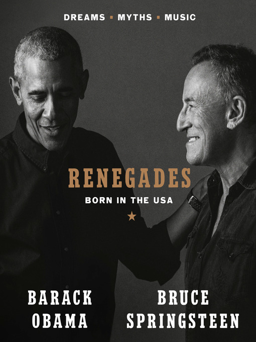 Title details for Renegades by Barack Obama - Available