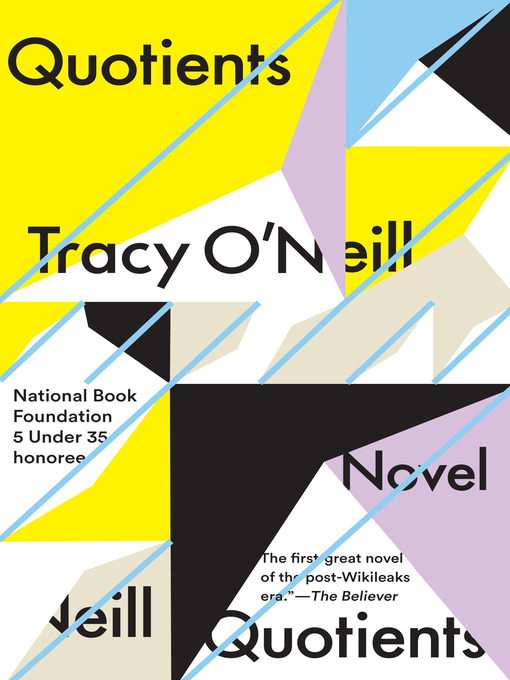 Title details for Quotients by Tracy O'Neill - Available