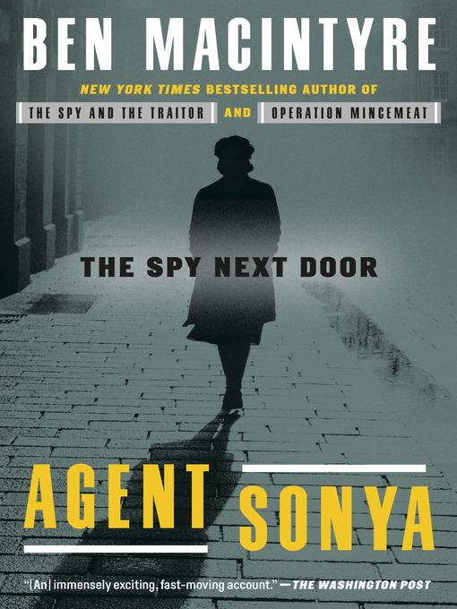 Title details for Agent Sonya by Ben Macintyre - Wait list