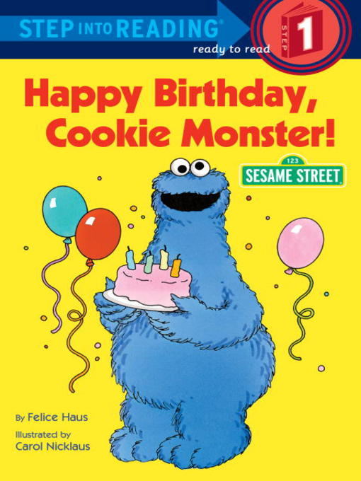 Cover image for Happy Birthday, Cookie Monster
