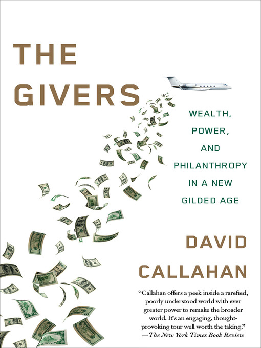 Title details for The Givers by David Callahan - Available
