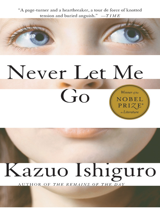 Never Let Me Go の表紙