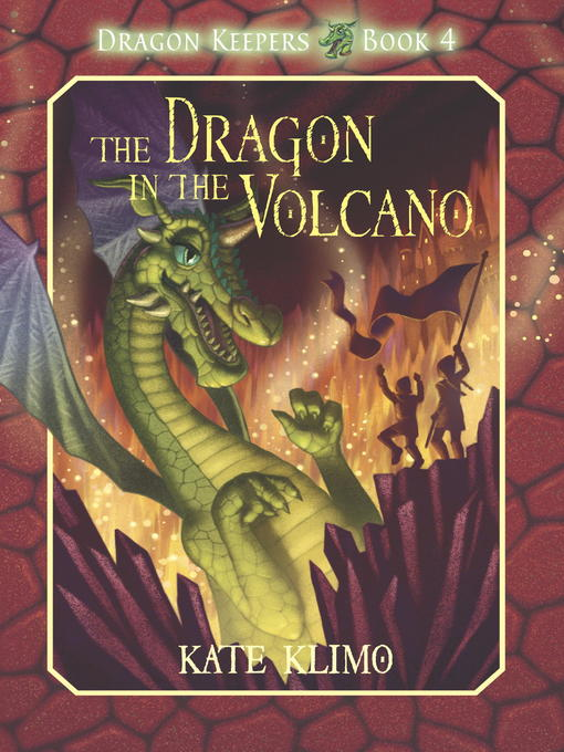 Cover image for The Dragon in the Volcano
