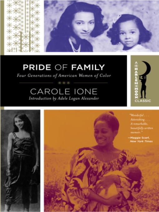 Title details for Pride of Family by Carole Ione - Wait list