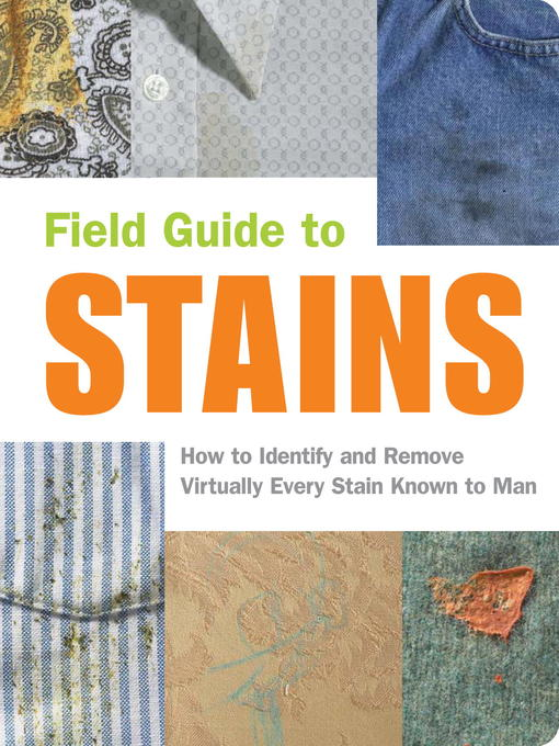 Title details for Field Guide to Stains by Virginia M. Friedman - Available