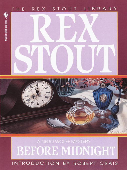Title details for Before Midnight by Rex Stout - Available
