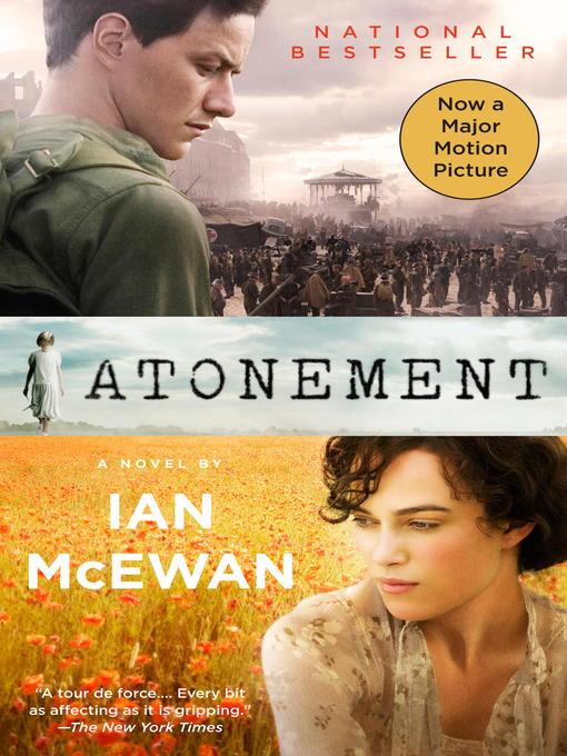 Title details for Atonement by Ian McEwan - Wait list