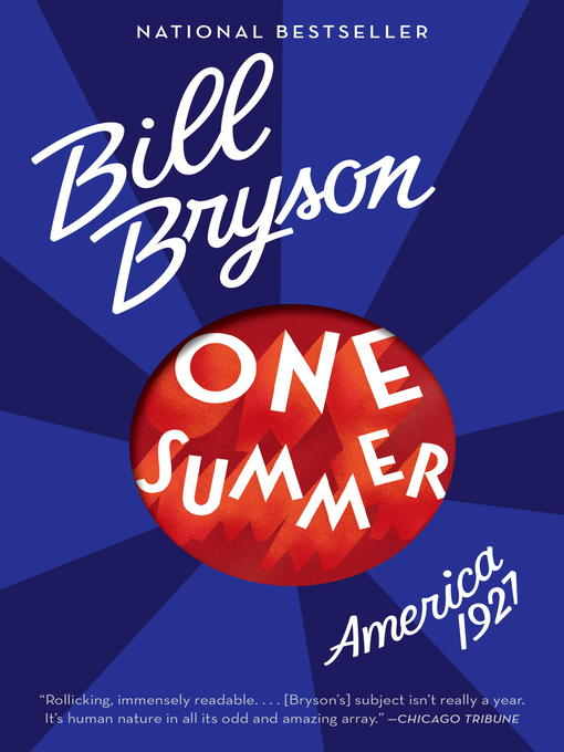 Title details for One Summer by Bill Bryson - Available