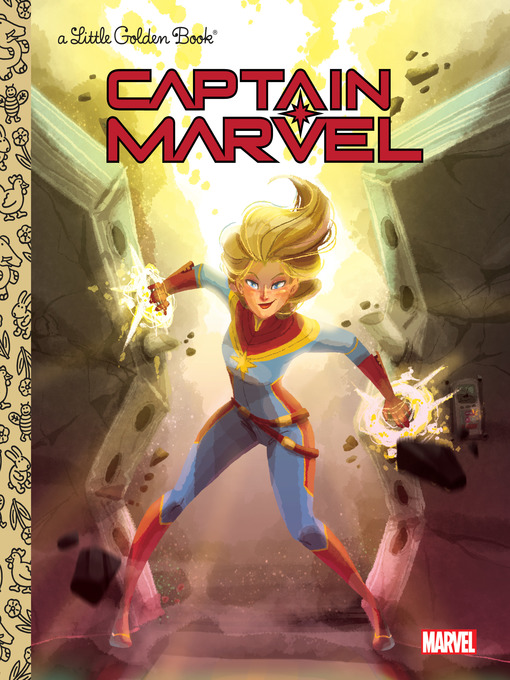 Title details for Captain Marvel Little Golden Book (Marvel) by John Sazaklis - Wait list