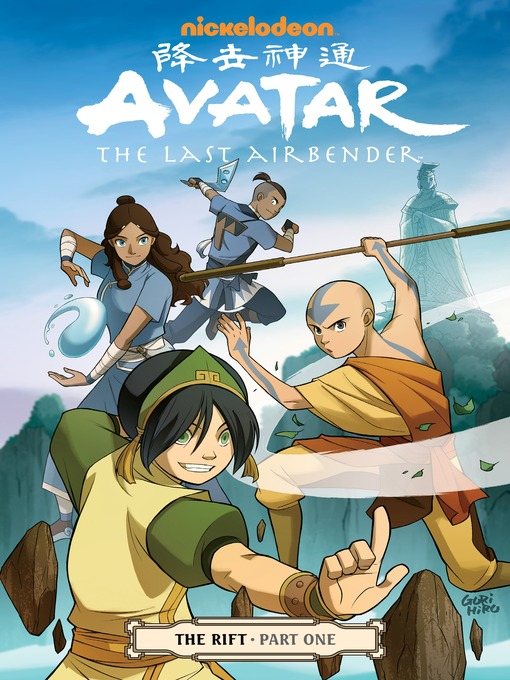 Cover of Avatar: The Last Airbender - The Rift, Part 1