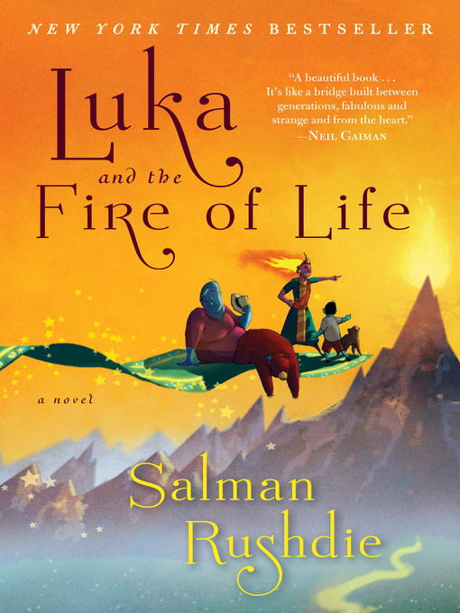 Cover of Luka and the Fire of Life