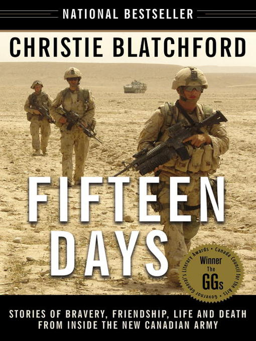 Title details for Fifteen Days by Christie Blatchford - Available