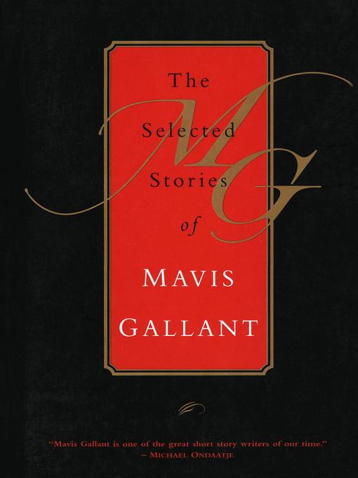 A life in books: Mavis Gallant