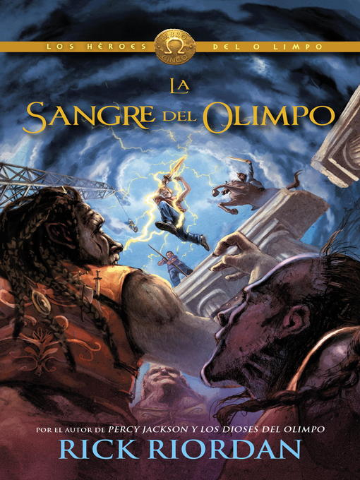 Title details for Sangre de Olimpo (Blood of Olympus) by Rick Riordan - Available
